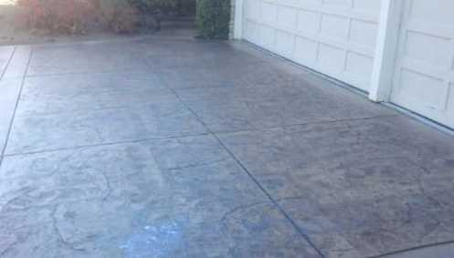 this is a picture of cement patio contractor in folsom, ca