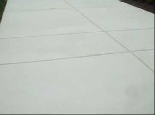 this is a picture of concrete driveway
